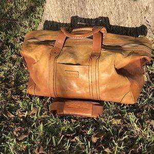 ✨Tommy Bahama Genuine Leather Duffle Travel Bag